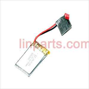 DFD F162 Spare Parts: Body battery 3.7V 600mAh