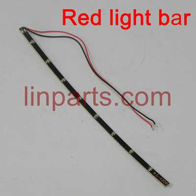 DFD F183 JJRC H8C RC Quadcopter Spare Parts: Article lamp(red)