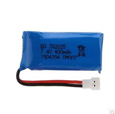 Nighthawk DM007 RC Quadcopter Spare Parts: Body battery(7.4 400mAh)