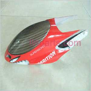 FXD A68688 Spare Parts: Head cover\Canopy(red)