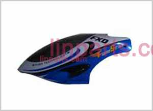 FXD A68690 Spare Parts: Head cover\Canopy(bule Soft surface)