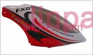 FXD A68690 Spare Parts: Head cover\Canopy(red Soft dough)