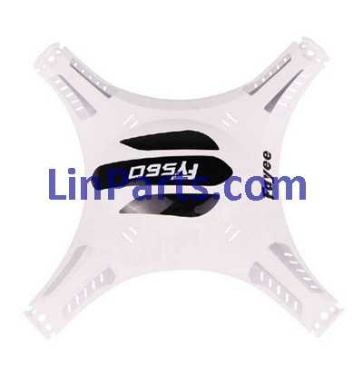 Fayee FY560 RC Quadcopter Spare Parts: Upper Head[White]
