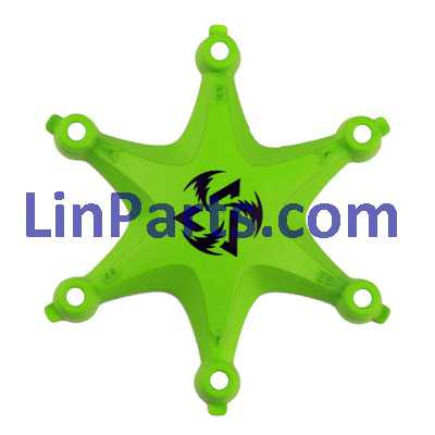 Fayee FY805 Mini Hexacopter Spare Parts: Upper Head[Green]