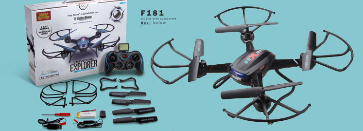 Holy Stone F181 F181C F181W RC Quadcopter