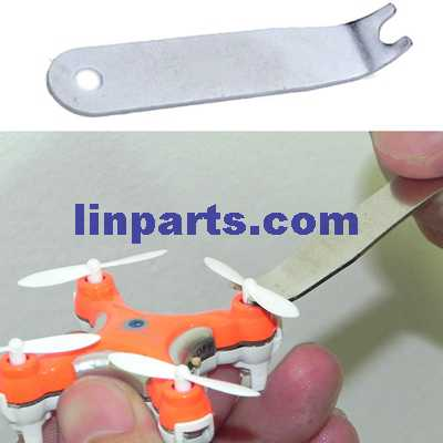 Small quadrocopter U wrench for take off the blades