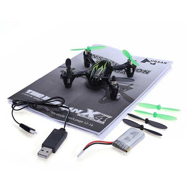 Hubsan X4 H107C Upgraded 2.4G 4CH RC Quadcopter With 2MP Camera RTF