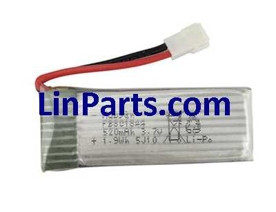 3.7V 520mAh Battery (Air-to-air plug)