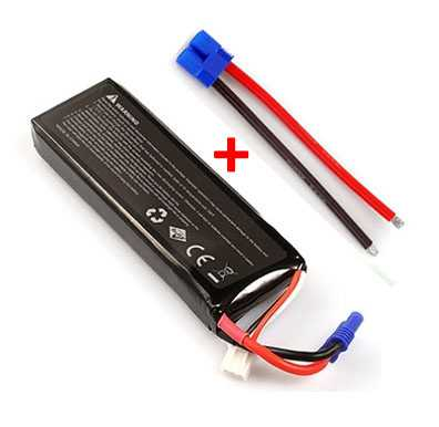 Hubsan X4 H502S RC Quadcopter Spare Parts: Remote Control/Transmitter Battery 7.4V 2700mAh + EC2 interface cable