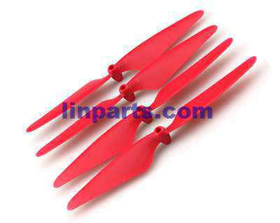 Hubsan X4 H502S RC Quadcopter Spare Parts: Main blades[Red]