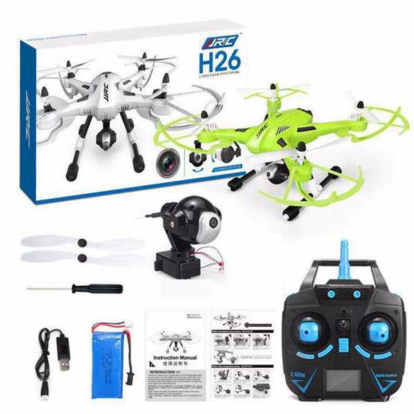 JJRC H26C With 2.0MP HD Camera 2-Axis Gimbal One Key Return RC Quadcopter RTF