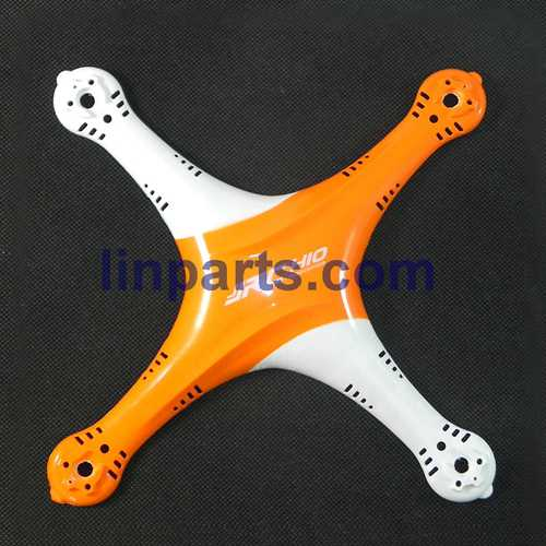 JJRC H10 2.4G 4CH 6 Axis Gyro With 2.0MP Camera 3D Flip RC Quadcopter RTF Spare Parts: Upper cover (Orange-White)