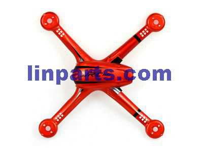 JJRC H11C RC Quadcopter Spare Parts: Upper cover[Red]
