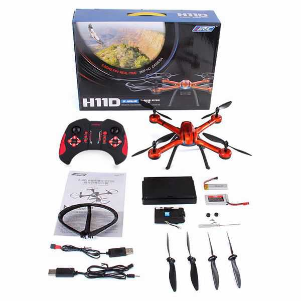 JJRC H11D 2.4G 4CH 6Axis Headless Mode RC Quadcopter RTF