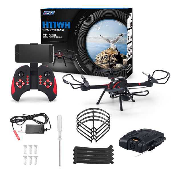 JJRC H11WH 720P WIFI FPV With 2MP Camera 2.4G 4CH 6Axis RC Quadcopter RTF