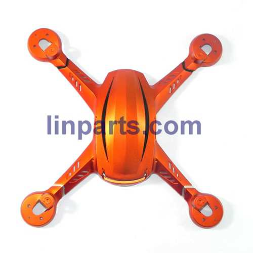 JJRC H12C H12W Headless Mode One Key Return RC Quadcopter With 3MP Camera Spare Parts: Upper cover (Orange)