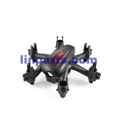 JJRC H20W RC Hexacopter Spare Parts: Upper and lower cover (Red + Black)