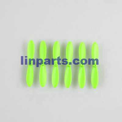 JJRC H20W RC Hexacopter Spare Parts: Main blades propellers [Green](6 pcs)