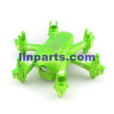 JJRC H20W RC Hexacopter Spare Parts: Upper and lower cover (Green)