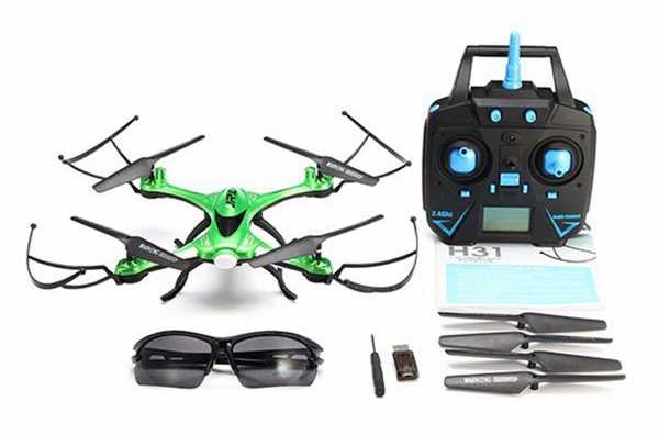 JJRC H31 H31-2 H31-3 H31-W Waterproof Headless Mode One Key Return 2.4G 4CH 6Axis RC Quadcopter RTF