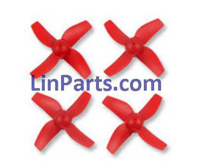 JJRC H36 RC Quadcopter Spare Parts: Main blades[Red]