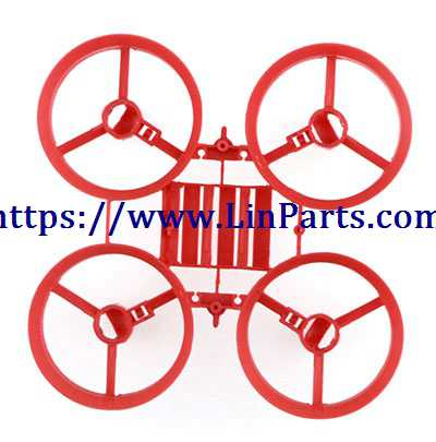 JJRC H67 RC Quadcopter Spare Parts: Main frame[Red]