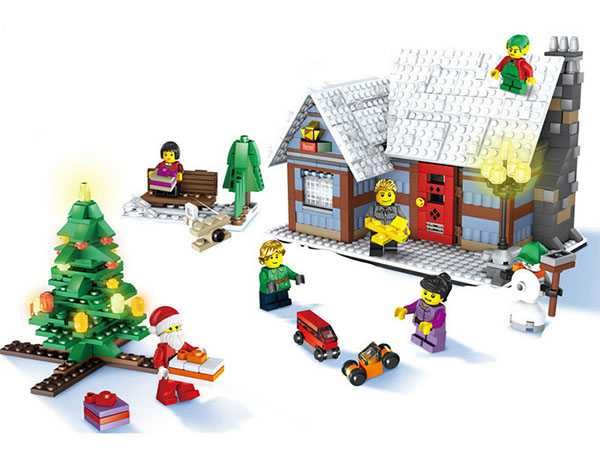 Christmas set: Christmas Village