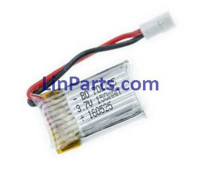 3.7V 150mAh Battery (Air-to-air plug)