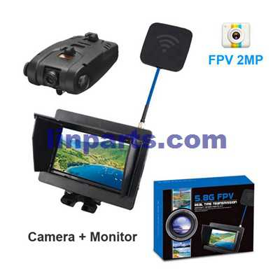 SYMA X5C Quadcopter Spare Parts: 5.8G FPV 720P 2MP Camera with Monitor Real Time Transmission C4001