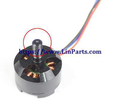 JJRC JJPRO X3 RC Quadcopter Spare Parts: CCW motor[With pit]