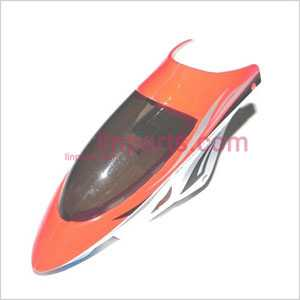 JXD333 Spare Parts: Head cover\Canopy(red)