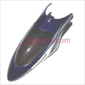 JXD333 Spare Parts: Head cover\Canopy(blue)