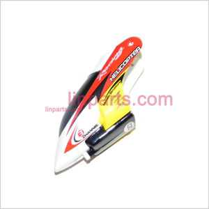 JXD335/I335 Spare Parts: Head cover\Canopy(red)