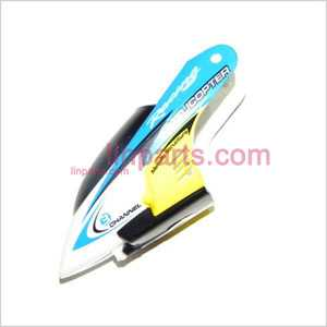 JXD335/I335 Spare Parts: Head cover\Canopy(blue)