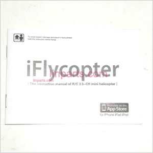 JXD348/I348 Spare Parts: English manual book(iflycopter)