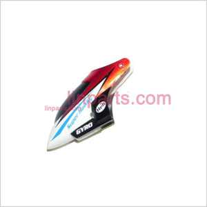JXD348/I348 Spare Parts: Head cover\Canopy(red)