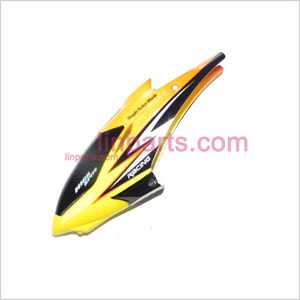 JXD349 Spare Parts: Head cover\Canopy(yellow)