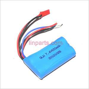JXD 352 352W Spare Parts: Battery 7.4V 650mAh (Red JST plug)