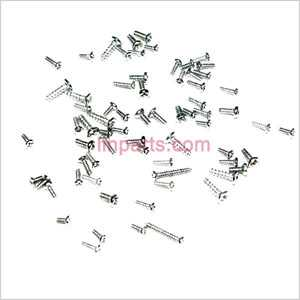 JXD 352 352W Spare Parts: Screws pack set