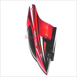 JXD 352 352W Spare Parts: Head cover\Canopy(Red)