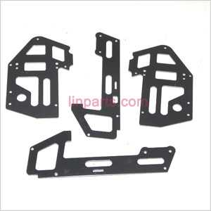JXD 352 352W Spare Parts: Metal frame(Black)