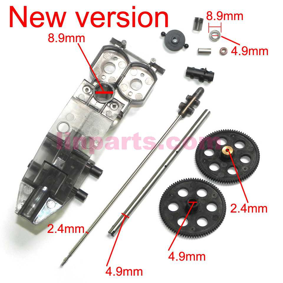 JXD 352 352W Spare Parts set [new]