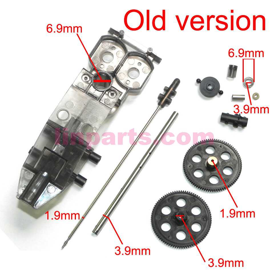 JXD 352 352W Spare Parts set [old]