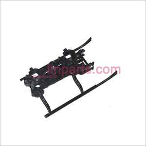 JXD353 Spare Parts: Undercarriage\Landing skid+lower main frame