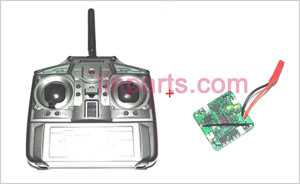 JXD 383 Spare Parts: Remote Control\Transmitter+PCB\Controller Equipement
