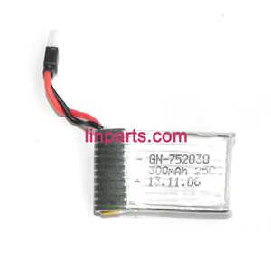 3.7V 300mAh Battery (Air-to-air plug)