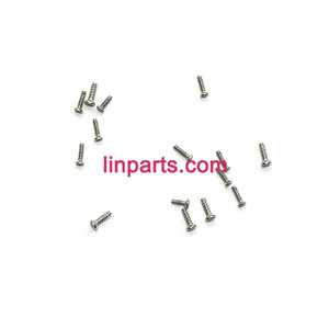 JXD 389 Helicopter Spare Parts: screws pack set