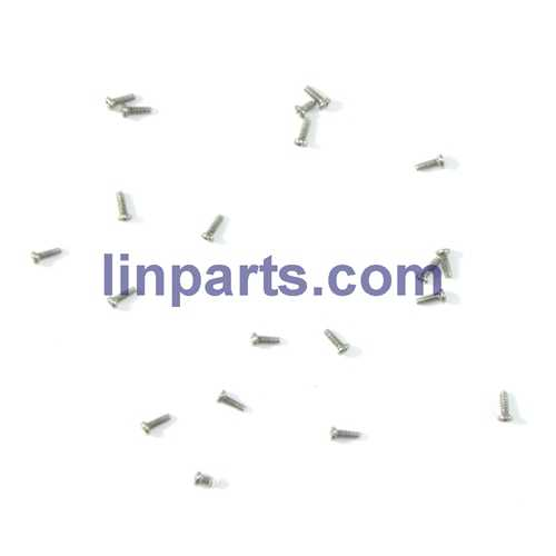 JXD JD 398 2.4G 4CH RC Quadcopter With Round Strobe light Spare Parts: screws pack set