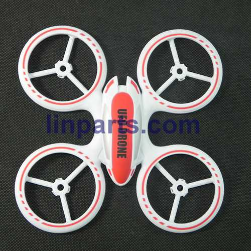 JXD JD 398 2.4G 4CH RC Quadcopter With Round Strobe light Spare Parts: Upper cover (Red)
