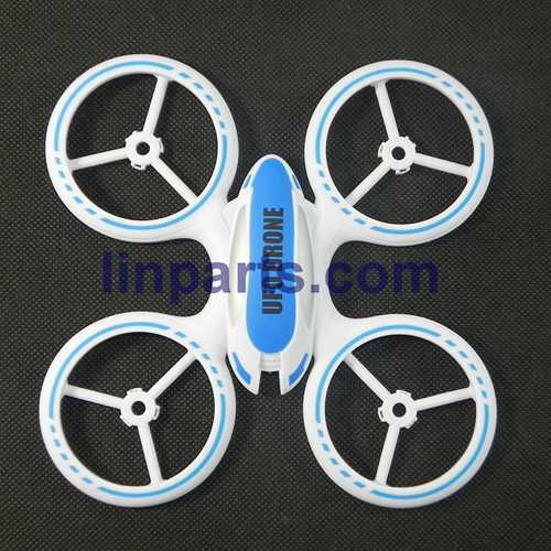 JXD JD 398 2.4G 4CH RC Quadcopter With Round Strobe light Spare Parts: Upper cover (Blue)